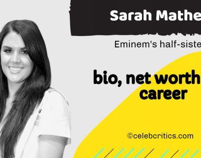 Sarah Mathers bio, relationships, career and net worth