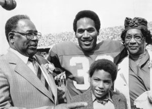 Sydney Simpson father OJ Simpson and her grand parents phot