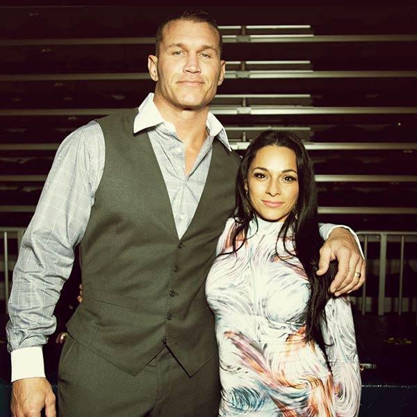 Kim Marie Kessler with Randy Orton