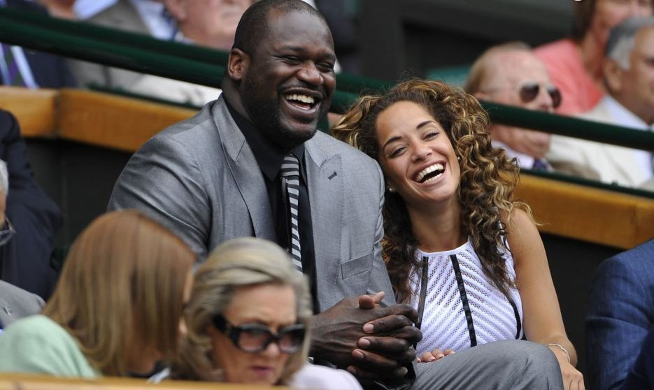 Laticia Rolle and Shaquille O'Neal