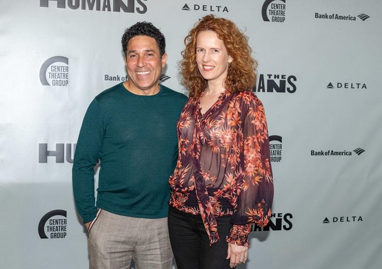 Ursula Whitaker with Oscar Nuñez