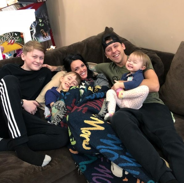 ex husband of shanna riley roman atwood with his new family