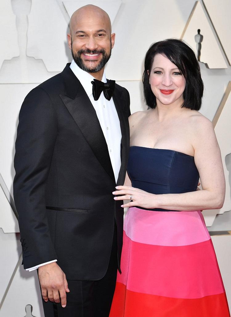 Elisa Pugliese and Keegan Michael Key