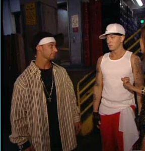 Eminem with Nathan Kane