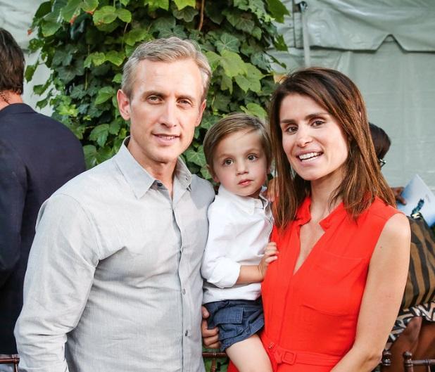 Florinka Pesenti with boyfriend Dan Abrams and son Everett