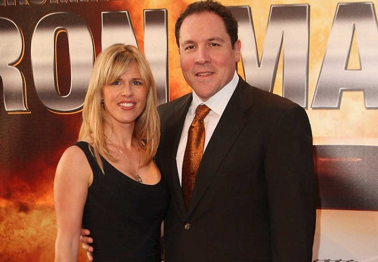 Joya Tillem and husband Jon Favreau