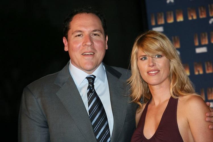 Joya Tillem with Jon Favreau
