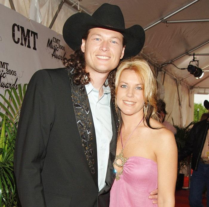 Kaynette Williams with Blake Shelton