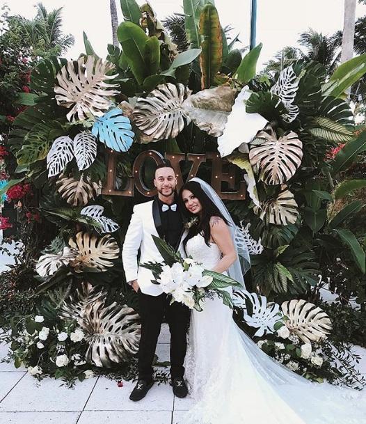 Nathan Samara with his wife