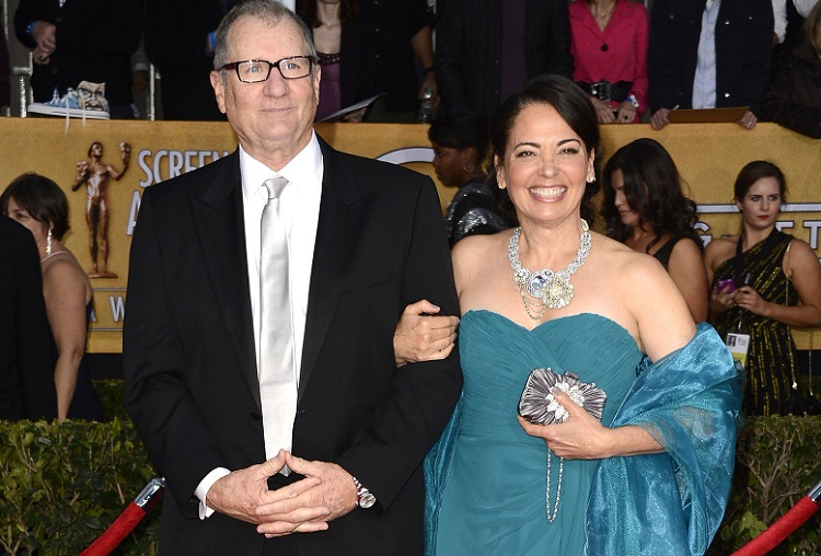 Catherine Rusoff with husband Ed O'Neill