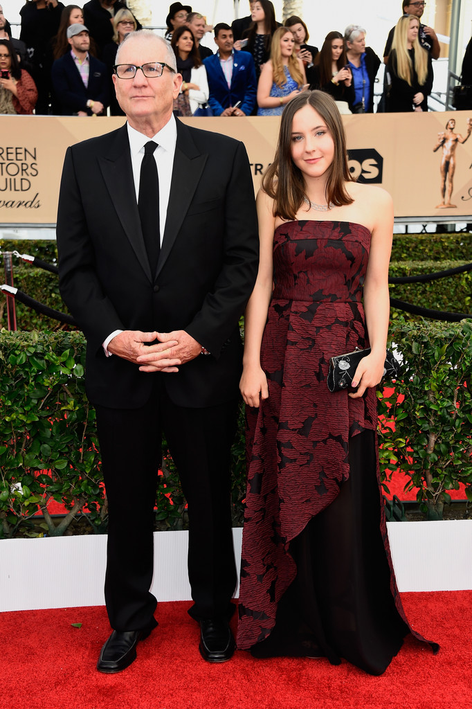 Catherine's husband Ed O'Neill with their daughter Sophie