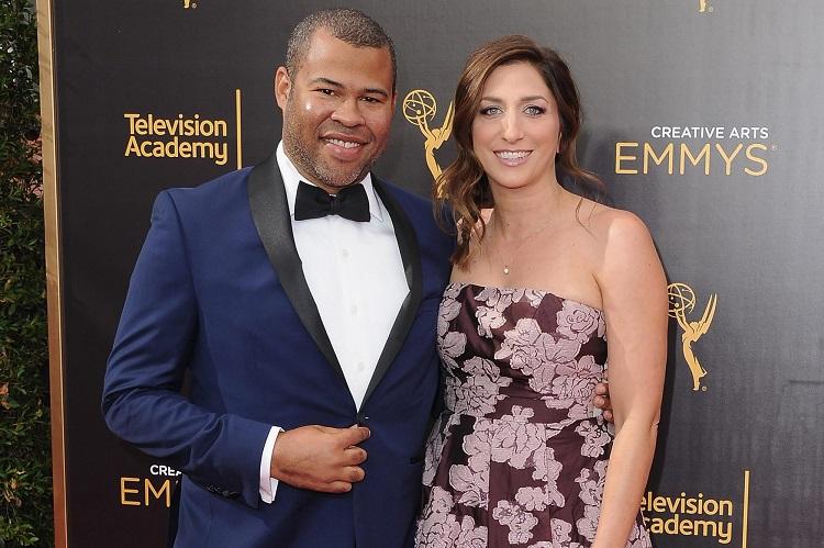 Chelsea Peretti with husband Jordan Peele