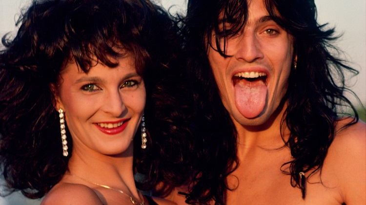 Elaine Starchuk with ex-spouse Tommy Lee