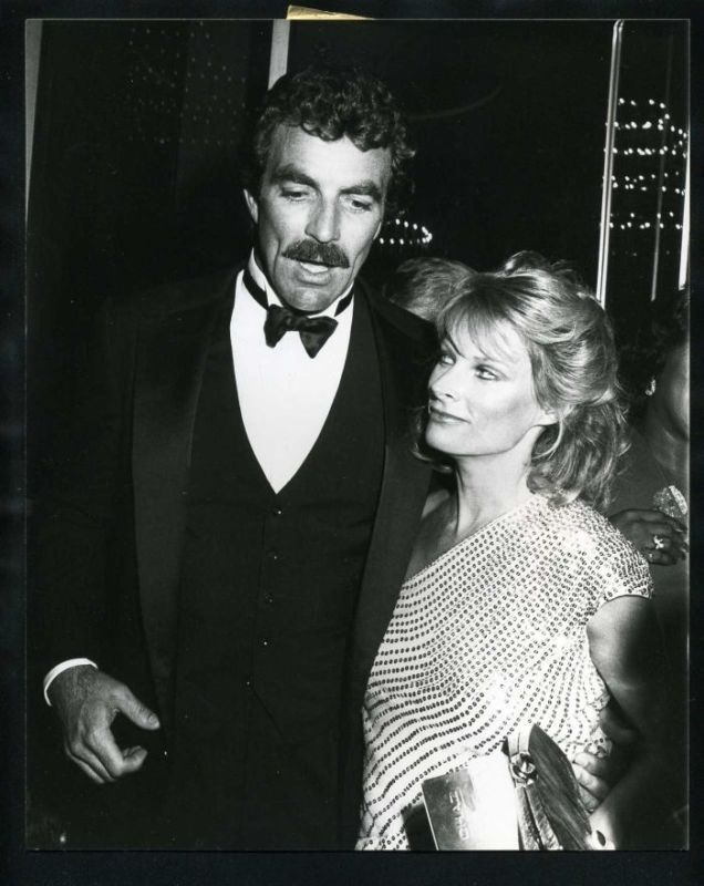 Jacqueline Ray and Tom Selleck