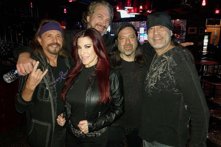 Korie Koker with Danny Koker, Scotty, Jeff Tortora