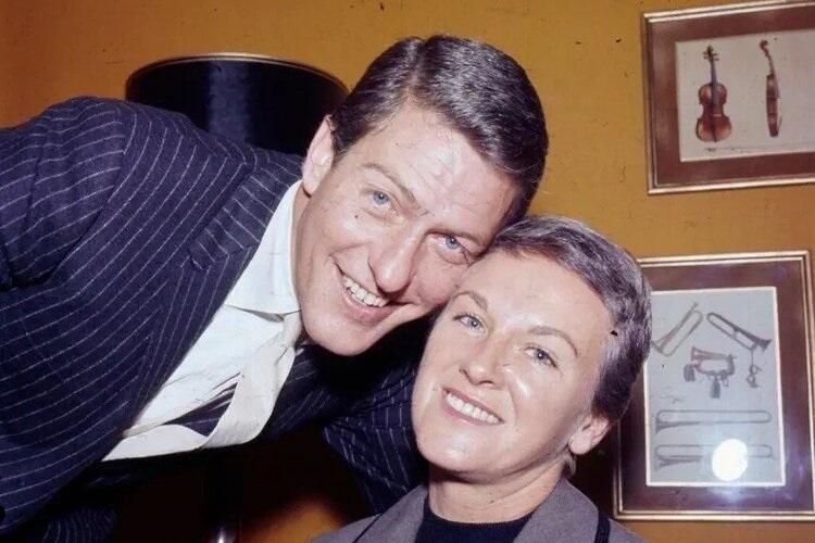 Margie Willett with ex-husband Dick Van Dyke