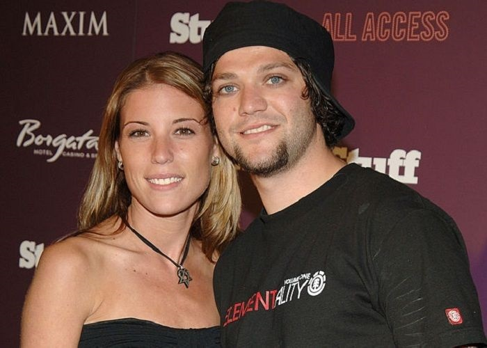 Missy Rothstein and Bam Margera