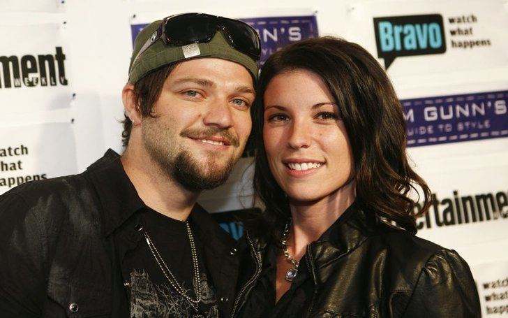 Missy Rothstein and her ex-husband Bam Margera