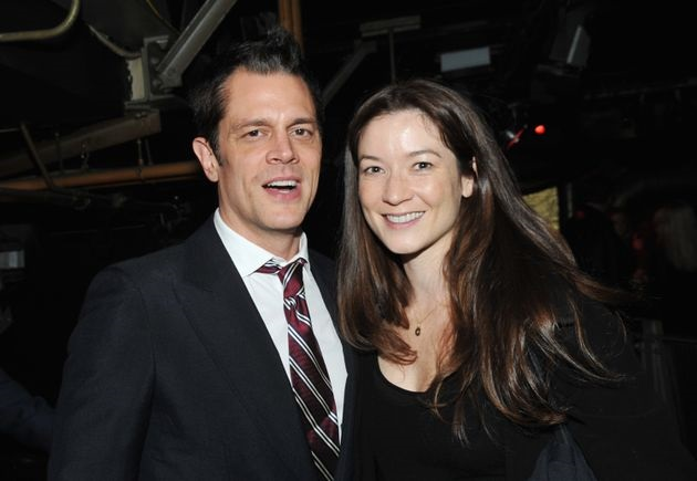 Naomi Nelson with her husband Johnny Knoxville