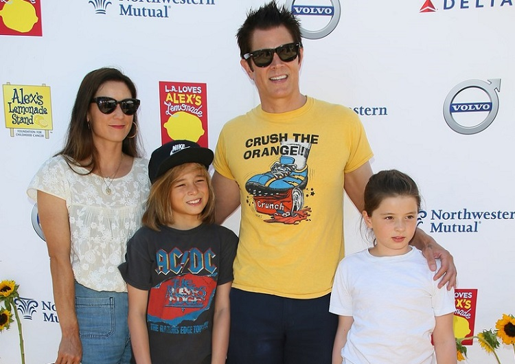 Naomi Nelson with her husband Johnny and their children