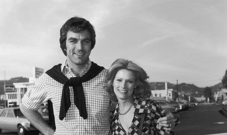 Jacqueline Ray with Tom Selleck