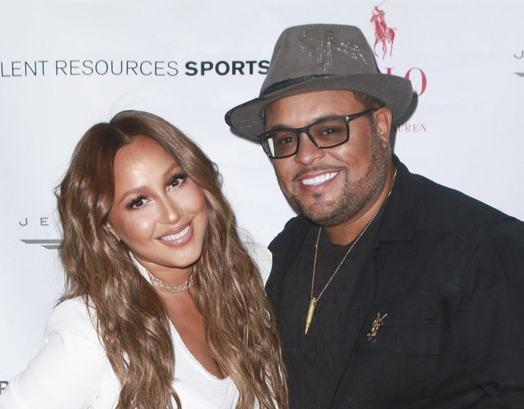 Adrienne Bailon with husband Israel Houghton