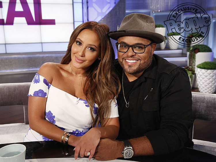 Israel Houghton with Adrienne Bailon