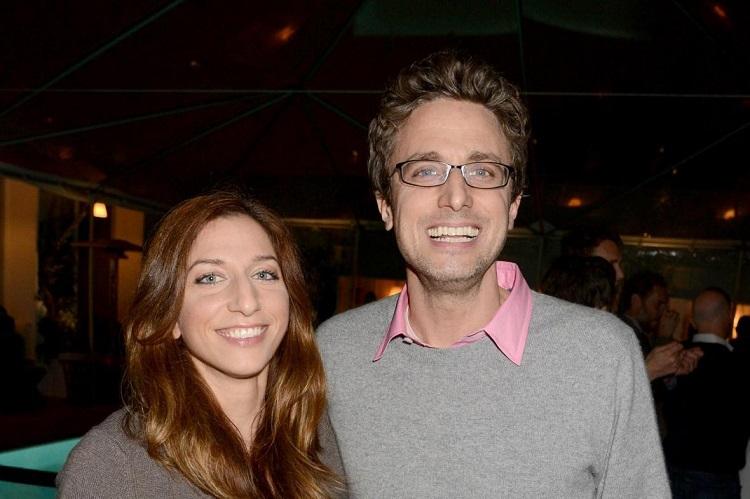 Jonah Peretti with Chelsea Peretti