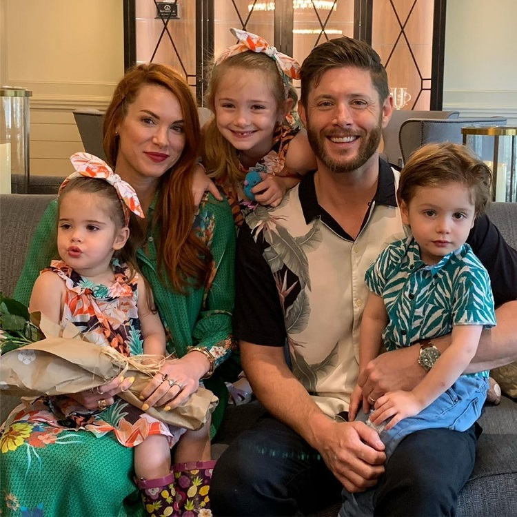 Justice Jay Ackles and the Ackles family