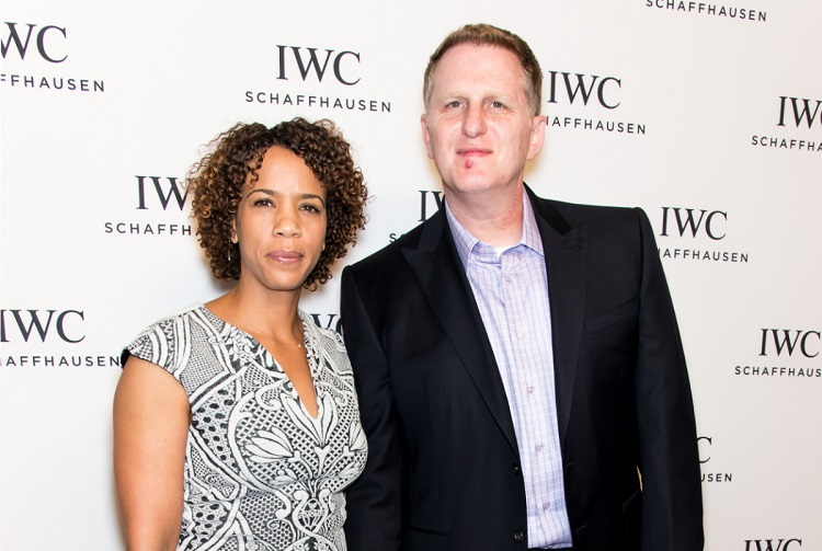 Kebe Dunn with her husband Michael Rapaport