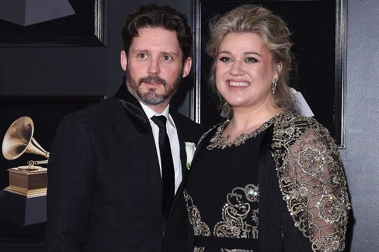 Kelly Clarkson with ex-husband Brandon Blackstock