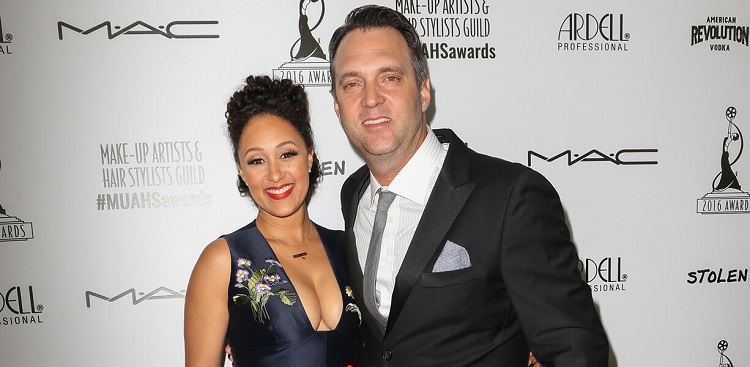 Tamera Mowry with husband Adam Housley