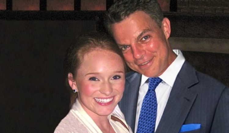 Virginia Donald with ex-husband Shepard Smith