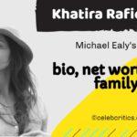 Khatira Rafiqzada Wife of Michael Ealy