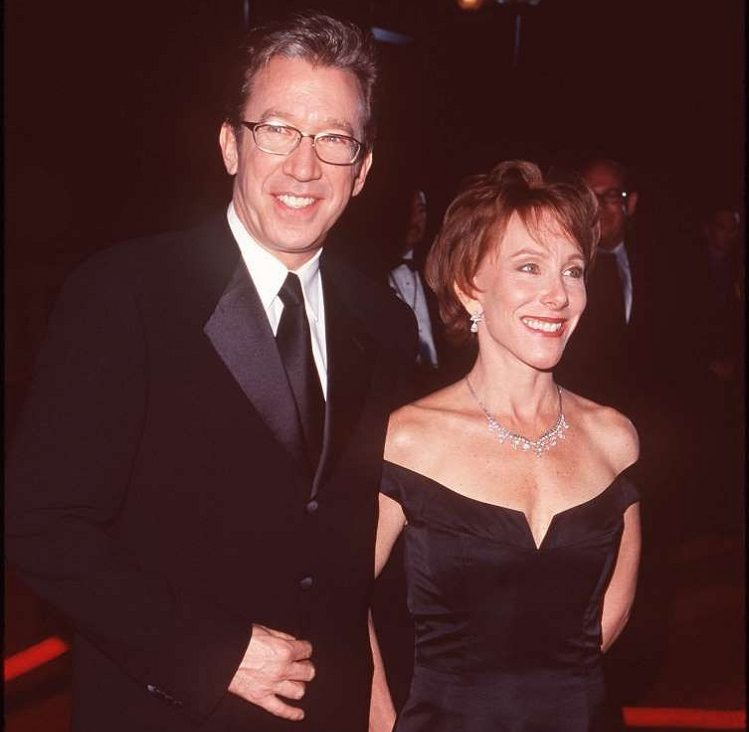 Laura Deibel with ex-husband Tim Allen