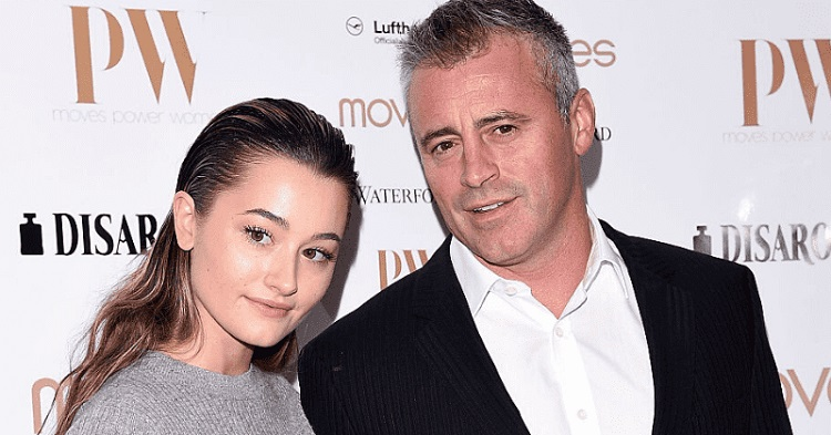Matt LeBlanc and his daughter, Marina Pearl LeBlanc.