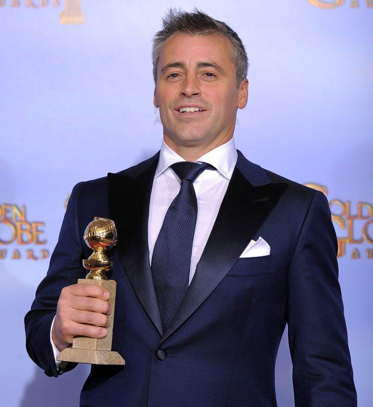 Matt Leblanc at the 69th annual Golden Globes Awards
