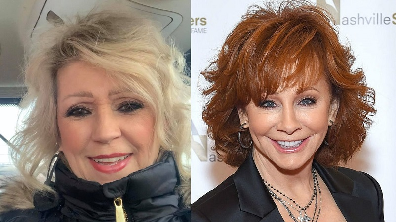 Photo of Elisa Gayle Ritter and Reba McEntire side by side