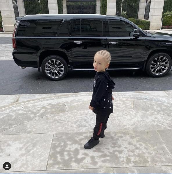 Adonis Graham son of drake going to school