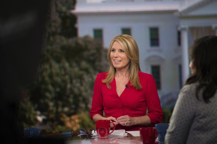 Former GOP aide Nicolle Wallace lighting it up for MSNBC news