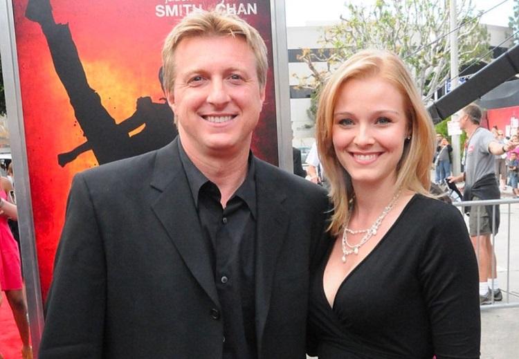 Stacie Zabka with husband, William Zabka