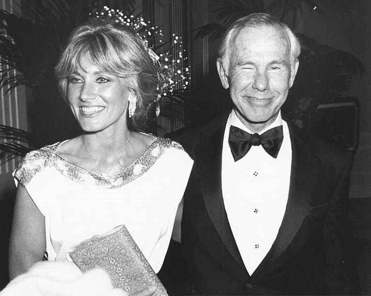 Alexis Maas and husband, Johnny Carson