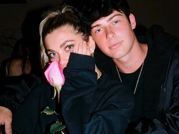 Amelie Zilber and her boyfriend Blake Gray