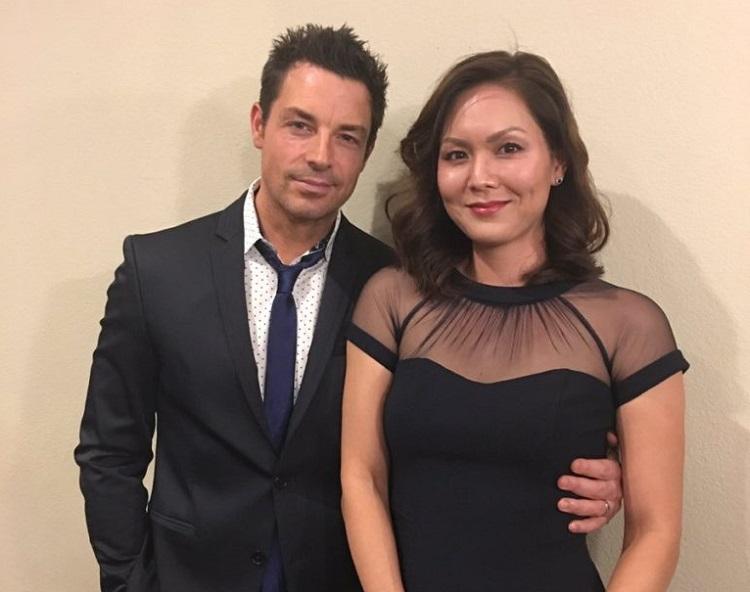 Cami Elliott with her husband, Brennan Elliott