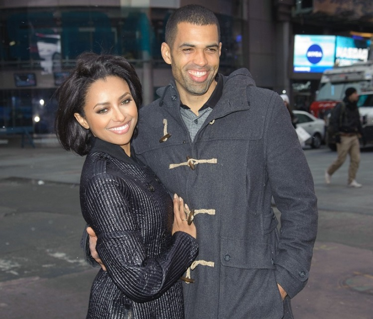 Cottrell Guidry with his ex-fiance, Kat Graham