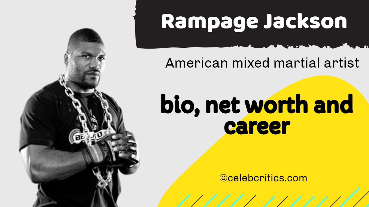 Rampage Jackson early life, bio, relationships, career and net worth