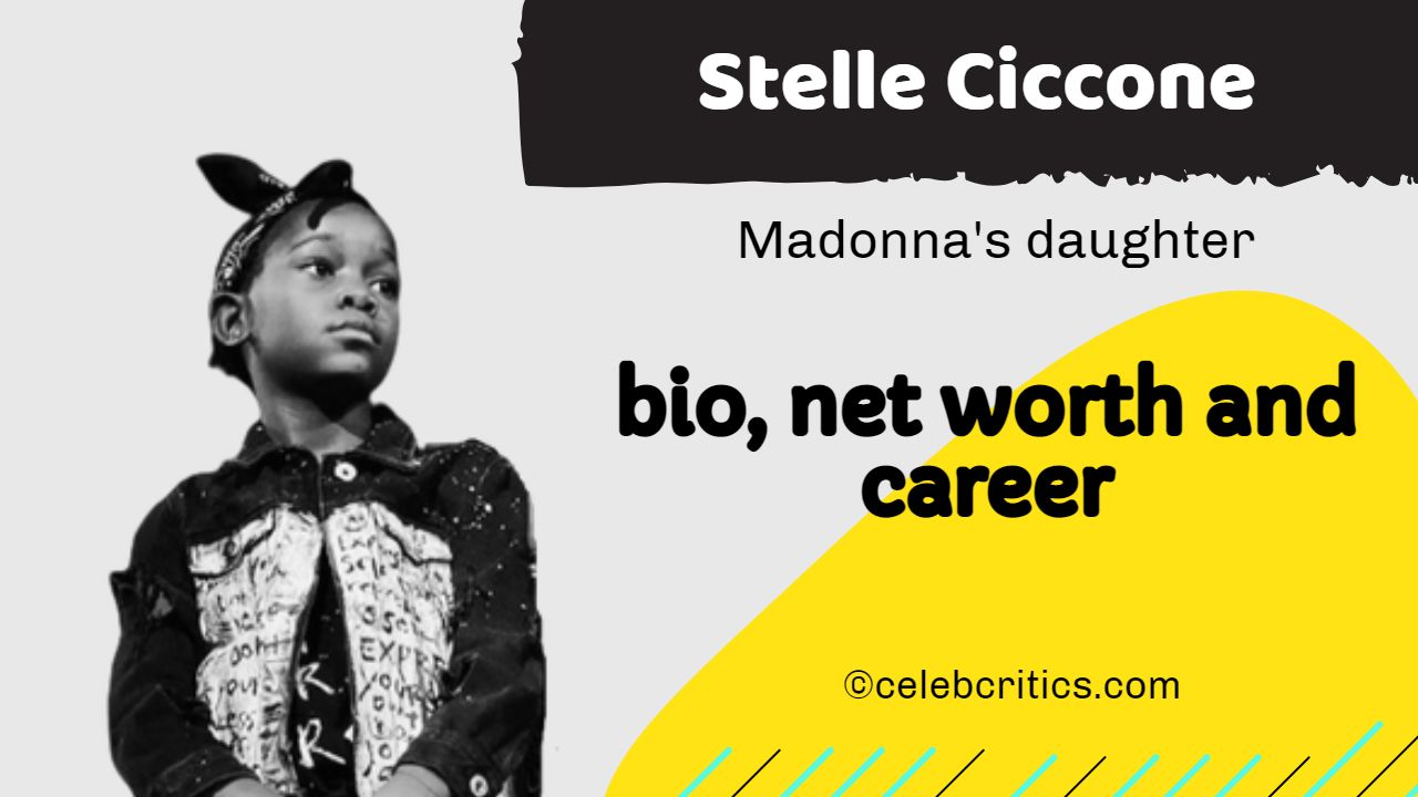 Stelle Ciccone bio, relationships, career and net worth