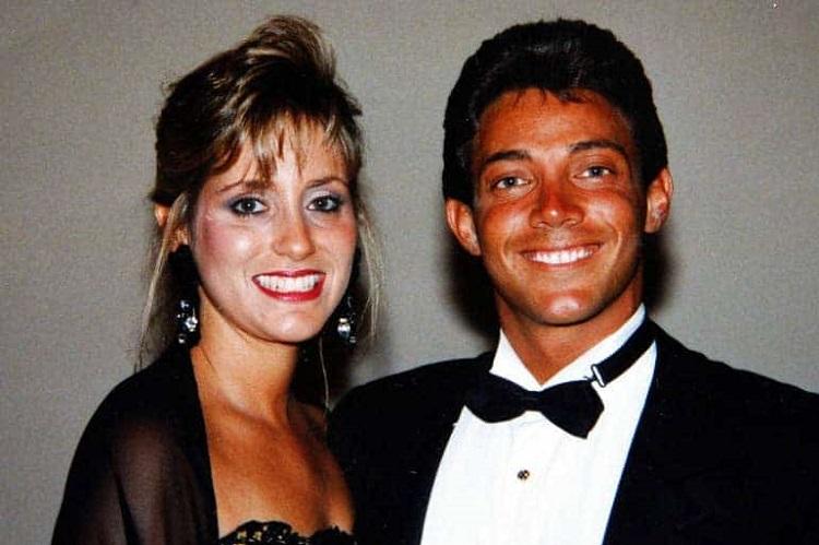 Denise Lombardo with Jordan Belfort