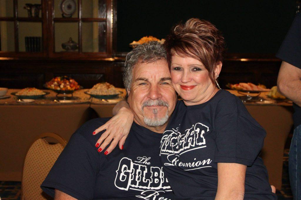Elisa and Daniel Gilbert together