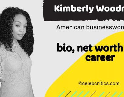 Kimberly Woodruff bio, relationships, career and net worth